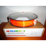 PET-G Laranja Fluorescente 1.75mm 750Gr