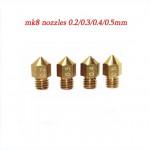 Nozzle  0.2 1.75mm MK8