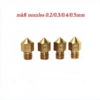 Nozzle  0.4 1.75mm MK8